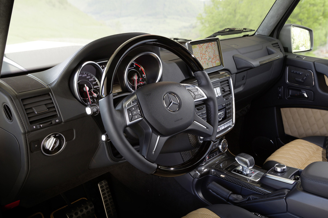 2016 Mercedes-AMG G65 Luxury Interior Infotainment