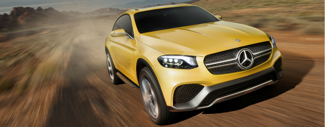 2016 Mercedes-Benz GLC Coupe Off-Road