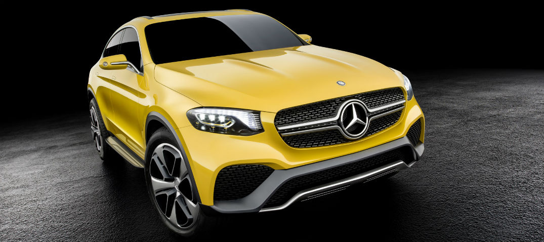 2016 Mercedes-Benz GLC Coupe Grille