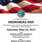 Memorial Day Parade Chicago IL 2015
