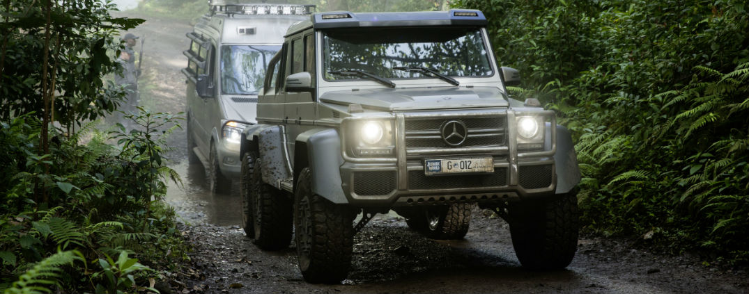 Mercedes-Benz G63 6x6 Juarssic World