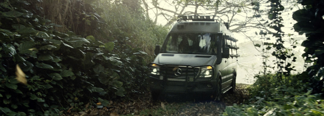 Mercedes-Benz Sprinter Van Jurassic World