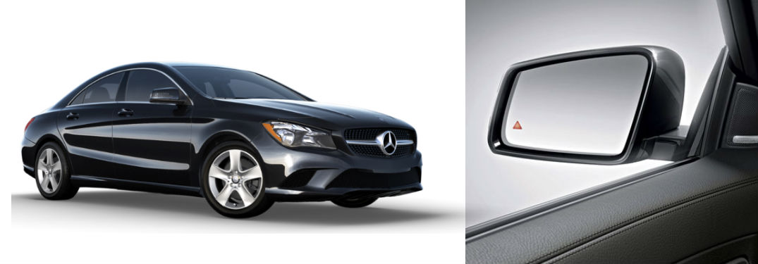 Blind Spot Assist on the Mercedes-Benz CLA