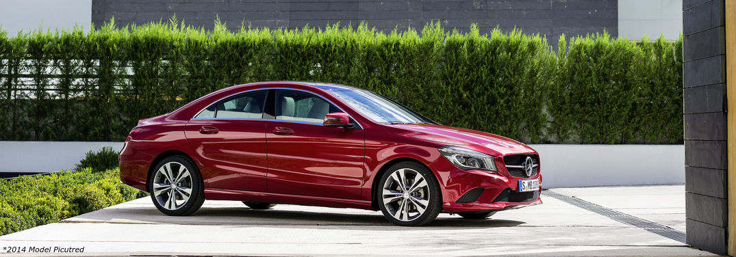 Image gallery 2016 cla 250c for Red mercedes benz cla