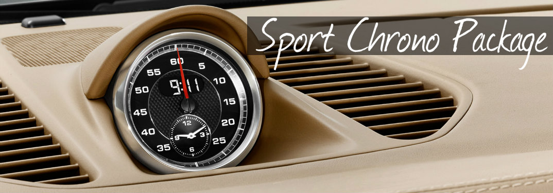 What Is The Porsche Sport Chrono Package