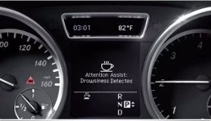 Mercedes benz intelligent drive system for Mercedes benz attention assist