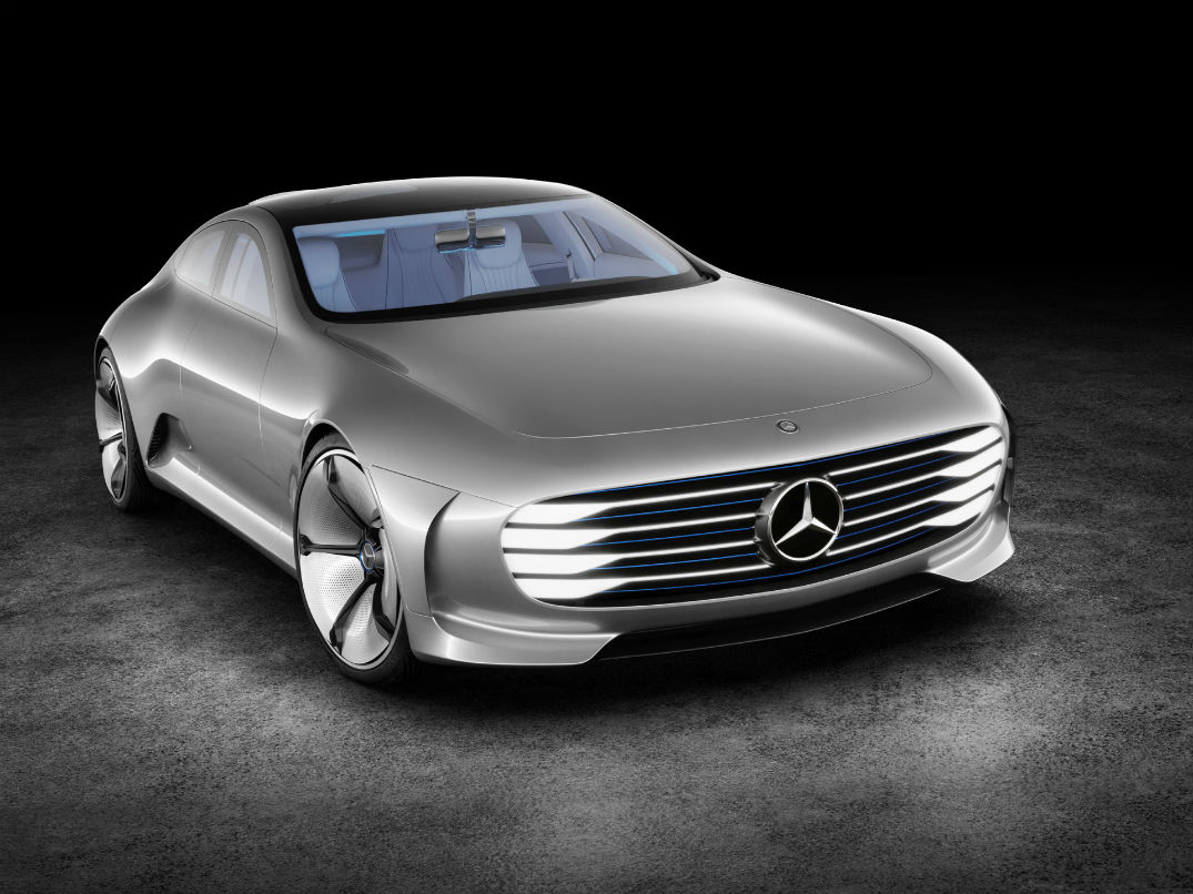 How does the mercedes benz concept iaa transform for Mercedes benz concept