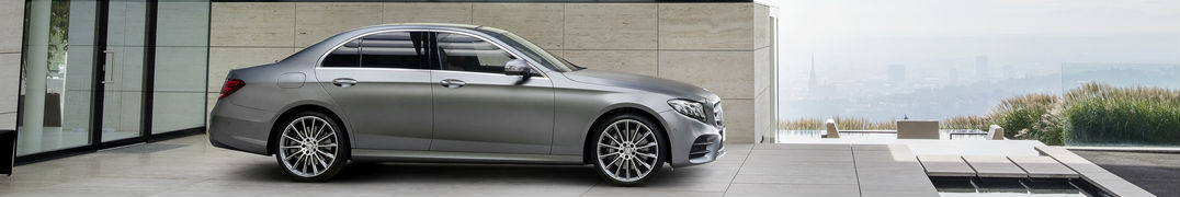2017 Mercedes-Benz E-Class Silver Side View