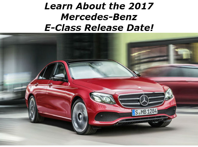 Blog linking to E-Class release date