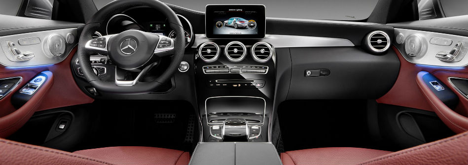 2017 Mercedes-Benz C-Class Coupe Interior Space