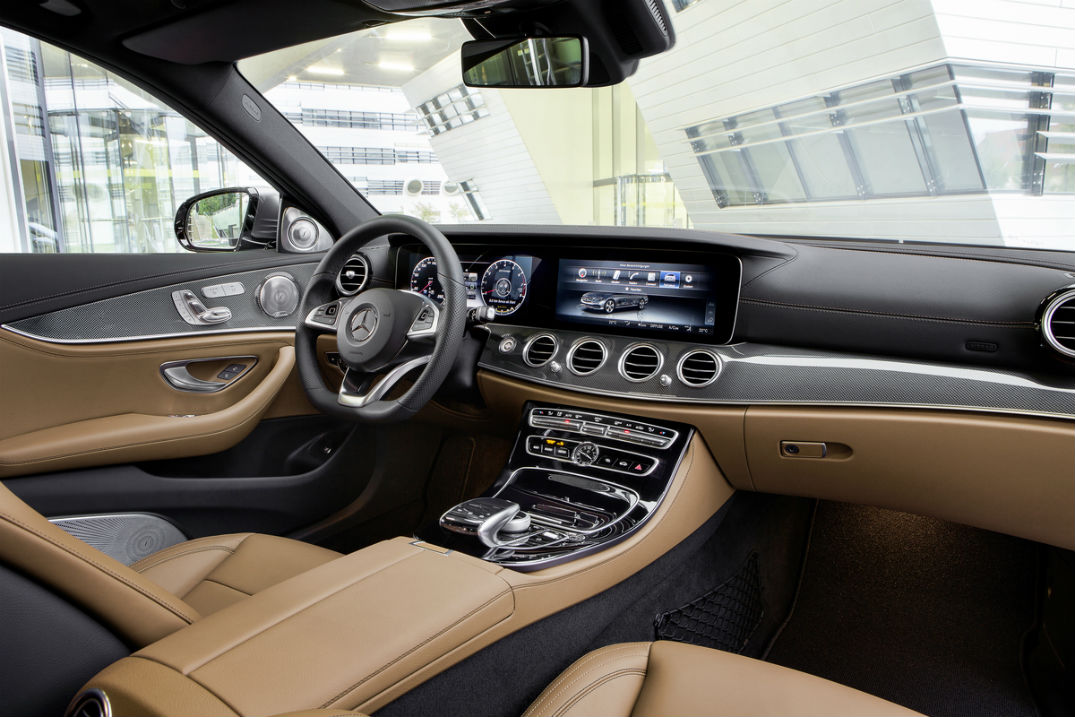 2017 Mercedes-Benz E-Class Interior View