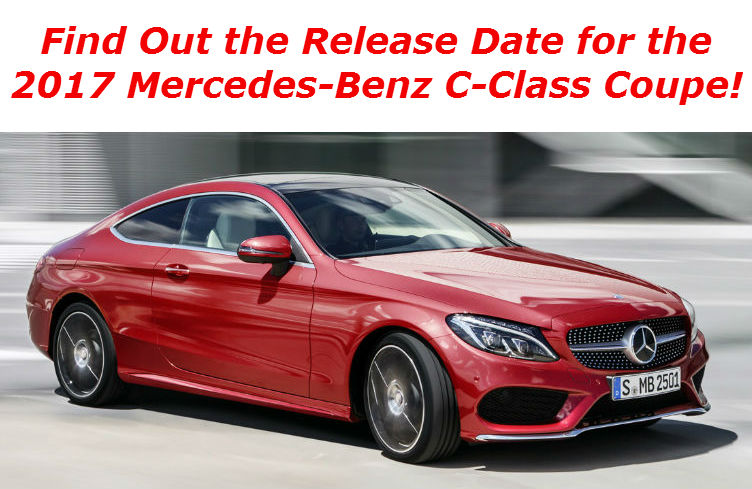 Blog linking to the release date for the C-Class Coupe