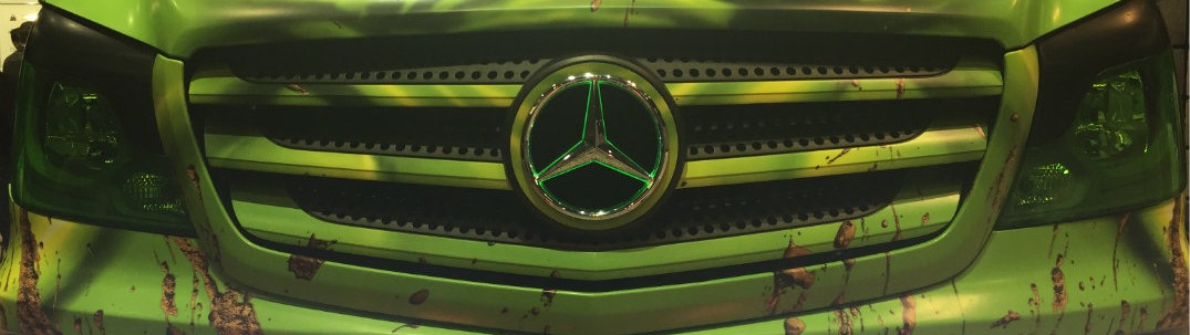 Mercedes-Benz Sprinter Extreme Concept Truck at Chicago Auto Show
