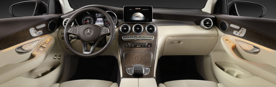 2017 Mercedes-Benz GLC Coupe Interior Luxury