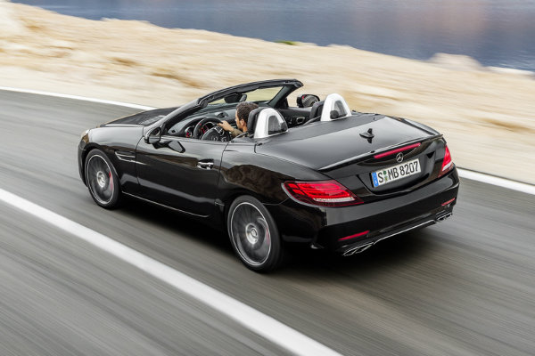 2017 Mercedes-AMG SLC43 Rear View Redesign
