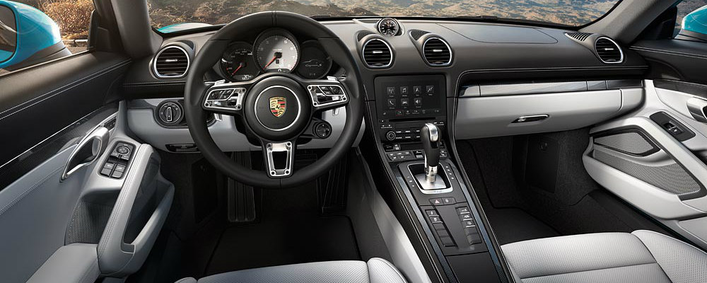 2017 Porsche 718 Cayman Interior Upgrades
