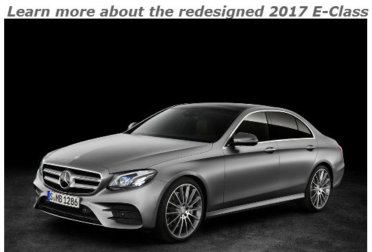 learn more about the redesigned 2017 e-class_o