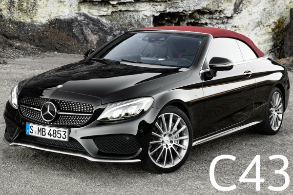 Differences in the 2017 mercedes benz c class cabriolet trims for 2017 mercedes benz c class c43 amg