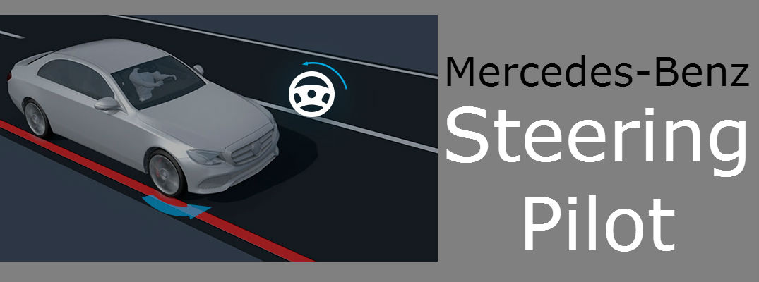 Always Stay in Your Lane with Mercedes-Benz Steering Pilot