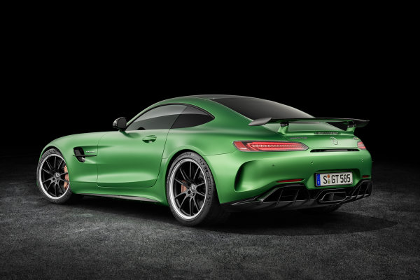 2017 Mercedes-AMG GT R Redesigned Rear End