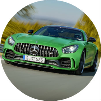 2017 Mercedes-AMG GT R redesigned grille
