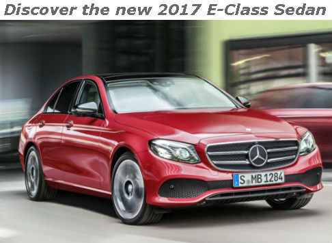 discover the new 2017 e-class sedan