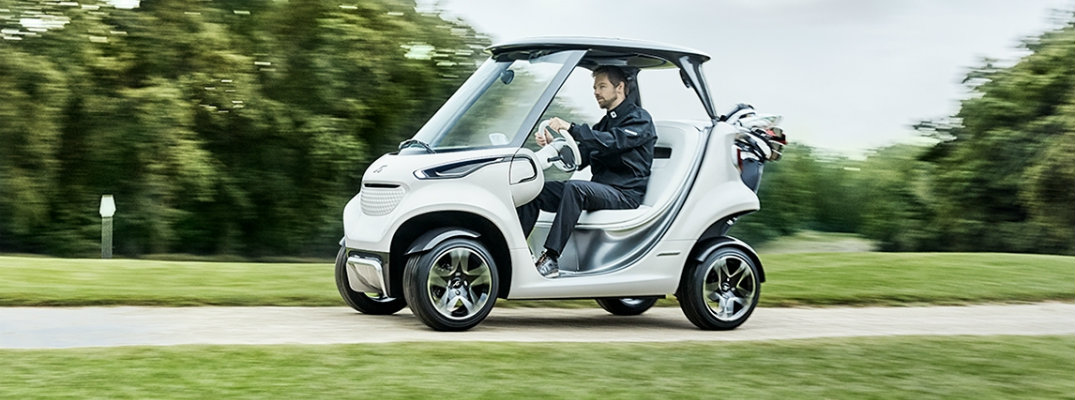 Have More Fun on the Links with a Mercedes-Benz Golf Cart!