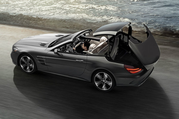 2017 mercedes benz sl features and changes for Mercedes benz sl convertible