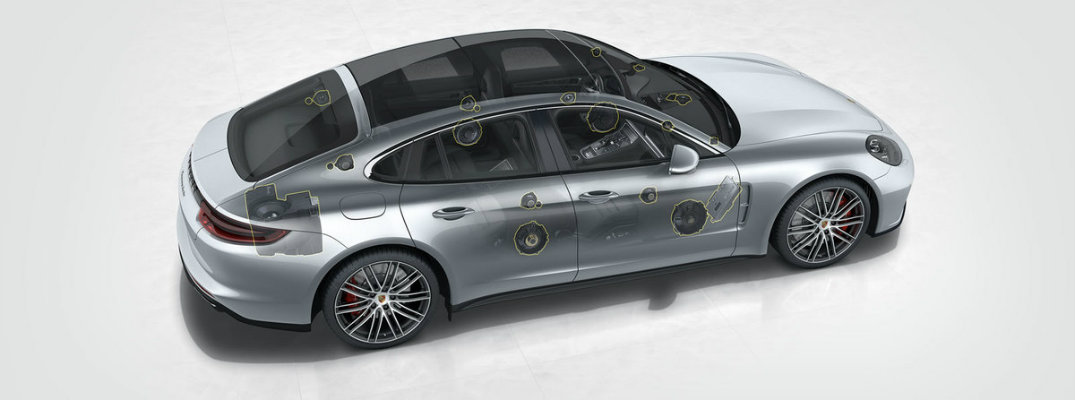 Get a One-of-a-Kind Listening Experience in the New Panamera