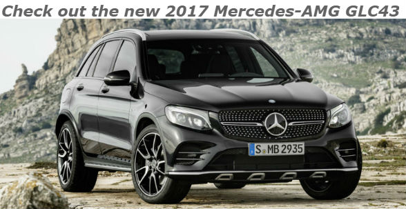 check out the new 2017 mercedes-amg glc43