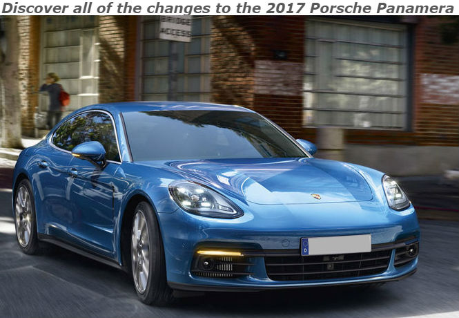discover all of the changes to the 2017 porsche panamera