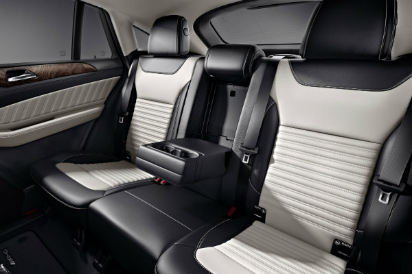 2017 Mercedes Amg Gle43 Coupe Rear Seats