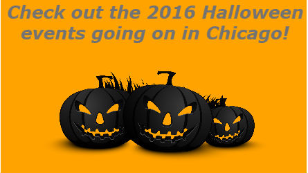check out the 2016 halloween events going on in chicago