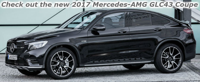 check out the new 2017 mercedes-amg glc43 coupe