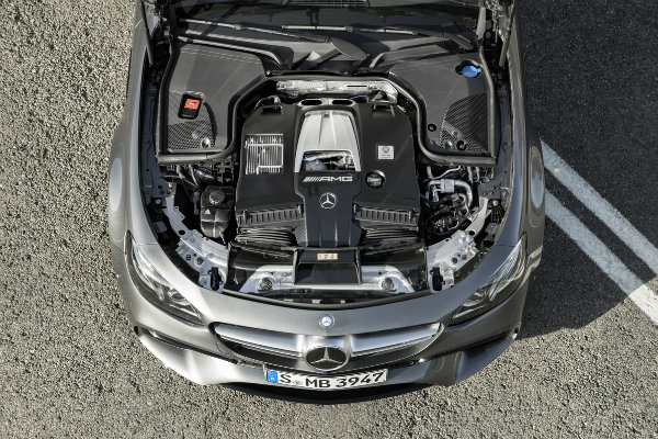 2018 Mercedes-AMG E63 4.0-liter V8 Engine