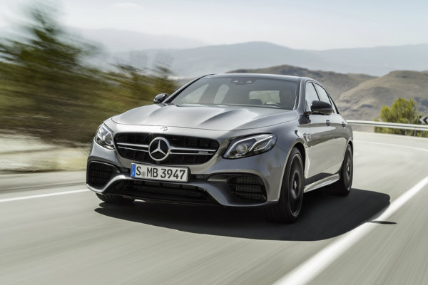2018 Mercedes-AMG E63 Redesigned Front Grille