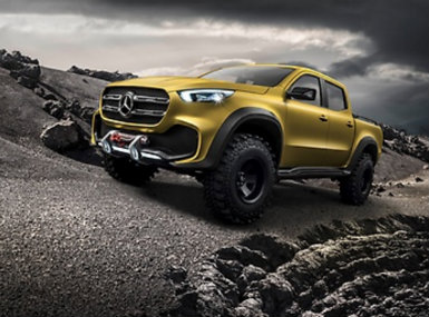 Mercedes-Benz X-Class Powerful Adventurer Exterior Features