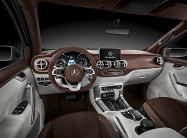 Mercedes-Benz X-Class Stylish Explorer Interior Features
