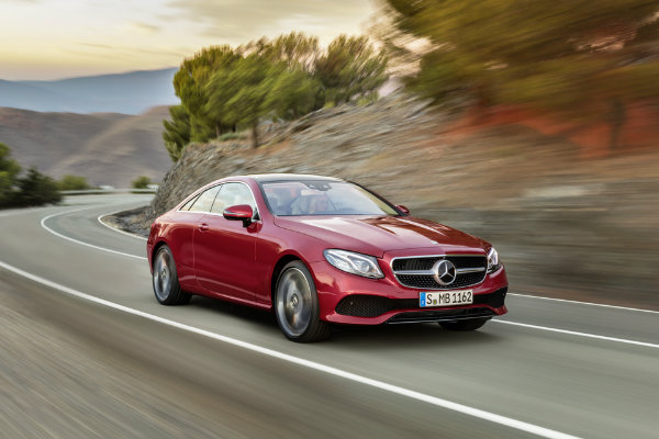 2018 Mercedes-Benz E-Class Coupe Exterior Redesign