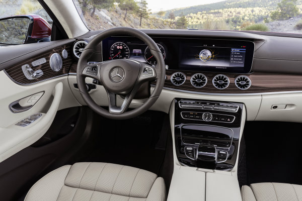 2018 Mercedes-Benz E-Class Coupe Premium Interior Features