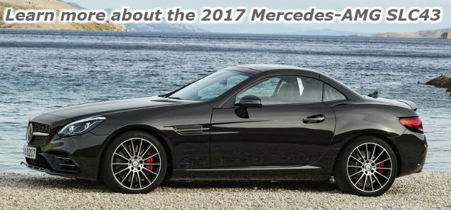 learn more about the 2017 mercedes-amg slc43
