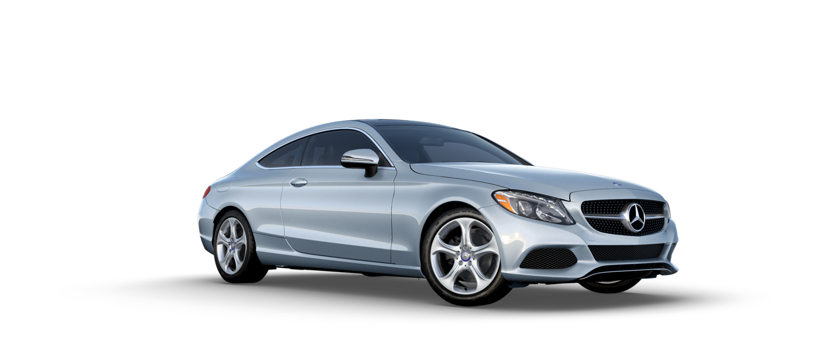 2017 mercedes benz c class exterior color options for Mercedes benz silver
