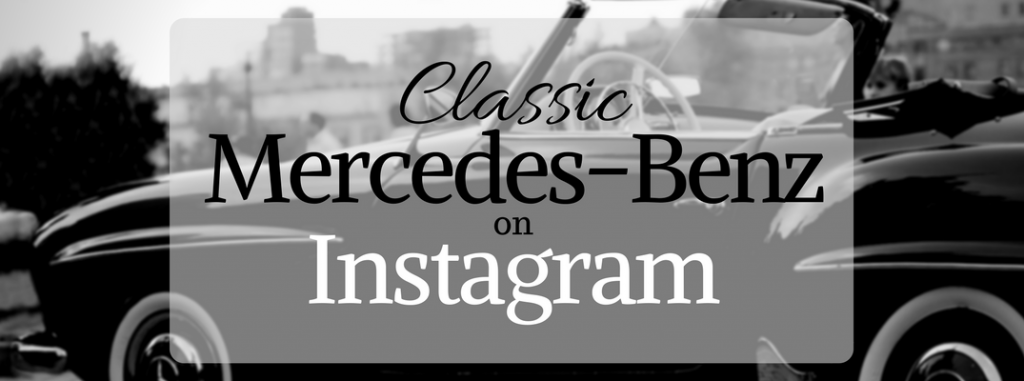 Best classic mercedes benz on instagram for Mercedes benz instagram