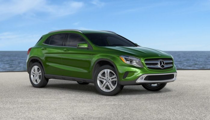 New 2017 mercedes benz gla suv color options for Mercedes benz gla suv price