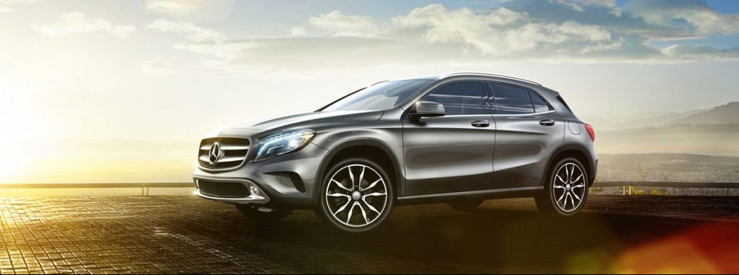 Exterior Colors Available for the new 2017 Mercedes-Benz GLA SUV