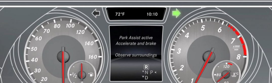 How To Use The Mercedes Benz Active Parking Assist
