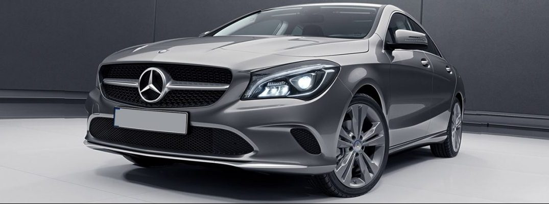 What colors does the Mercedes-Benz CLA come in?