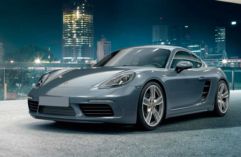What Kind of Engine Does the 2017 Porsche 718 Cayman Have?