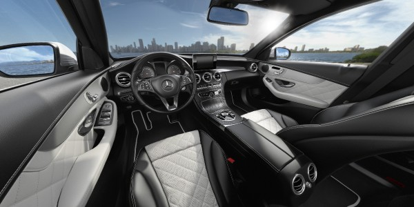 2017 Mercedes Benz C Class Interior Color And Material Options