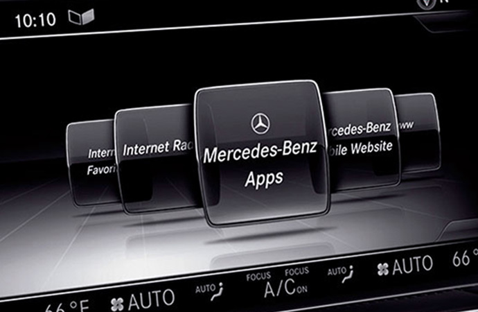 Mercedes-Benz mbrace activation